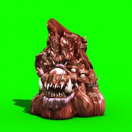 Giant Monster Poop Attack PixelBoom