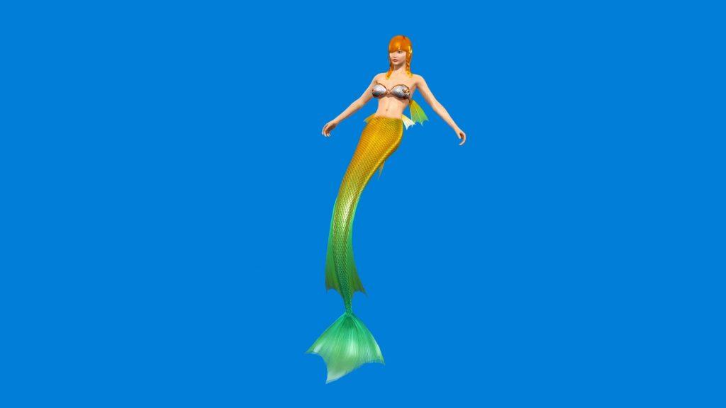 Mermaid Enchantress – 3D Model Animated