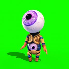 Monster Eye Man PixelBoom