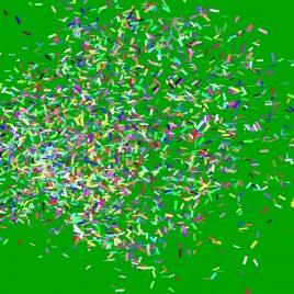Confetti Cannon Carnival Happy New Year PixelBoom