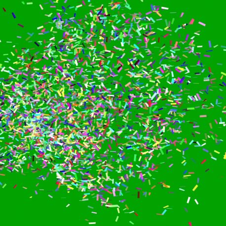 Confetti Cannon Carnival Happy New Year PixelBoom