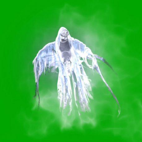 Spectral Phantom Halloween Horror PixelBoom