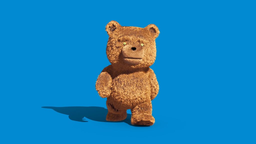Teddy Bear Fur – 3D Model Animated