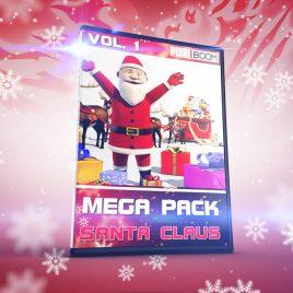 Copertina Mega Pack Santa Claus Christmas PixelBoom