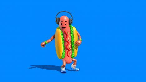 Hot Dog Dance Thriller – 3D Model Animated