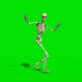 Skeleton Dancer Samba Gangnam Style Hip Hop PixelBoom