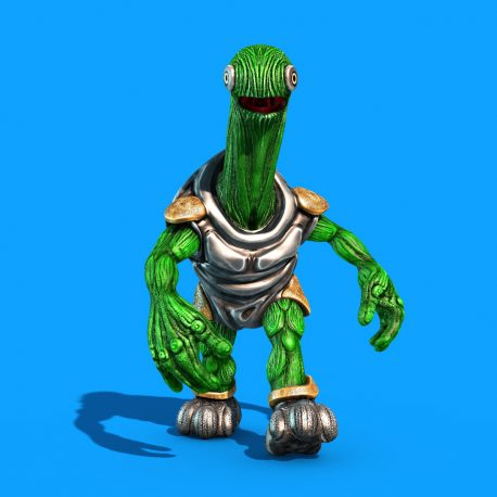 Alien Turtle Armor PixelBoom 3D Animations