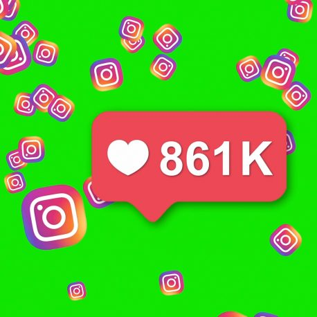Instagram Red Icon Counter Notification PixelBoom