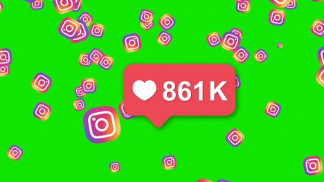Instagram Counter – 3D Animated