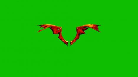Demon Devil Wings – 3D Model Animated