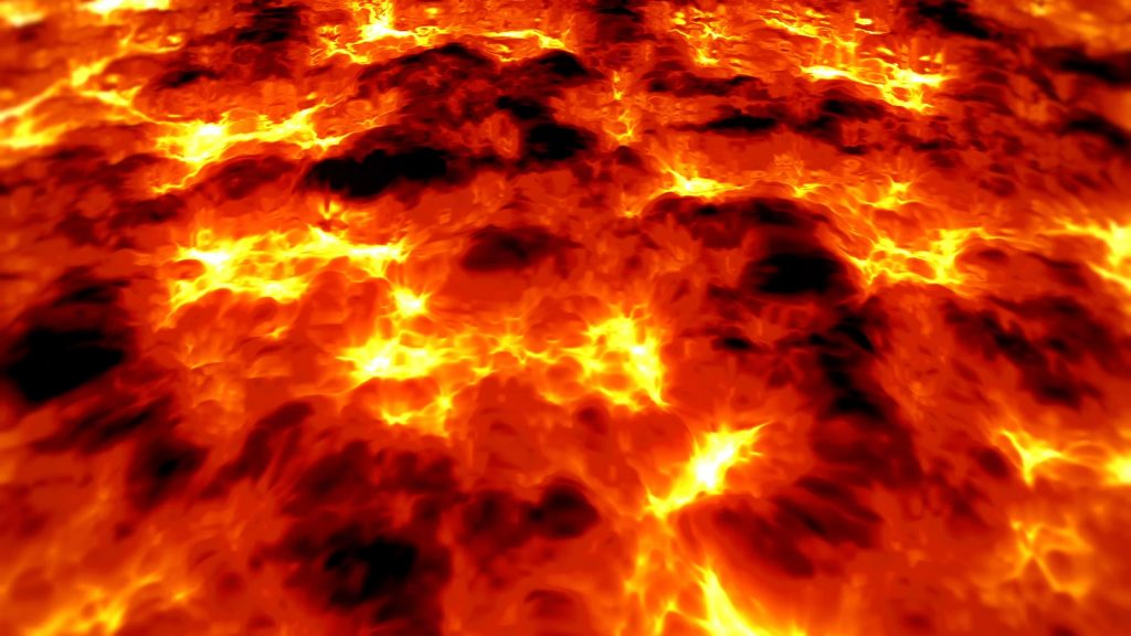 Lava Magma Volcano – 3D Model Animated