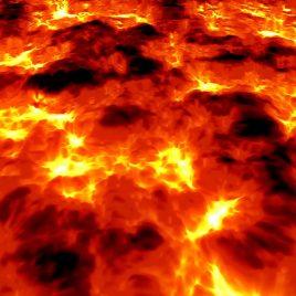 Lava Magma Volcano PixelBoom