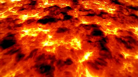 Lava Magma Volcano – 3D Model Animated
