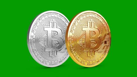 Bitcoin rotating – 3D Model Animated