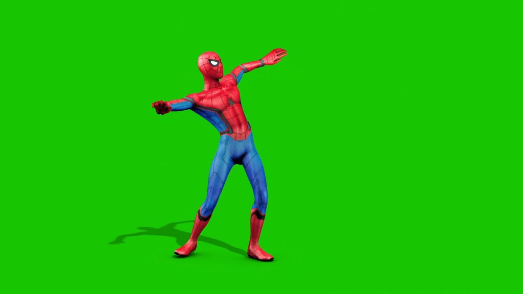 Spiderman Dances – 3D Model Animated