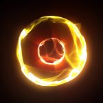 Energy Plasma Ball Loop PixelBoom