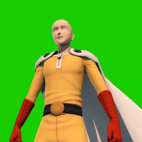 Saitama One Punch Man PixelBoom
