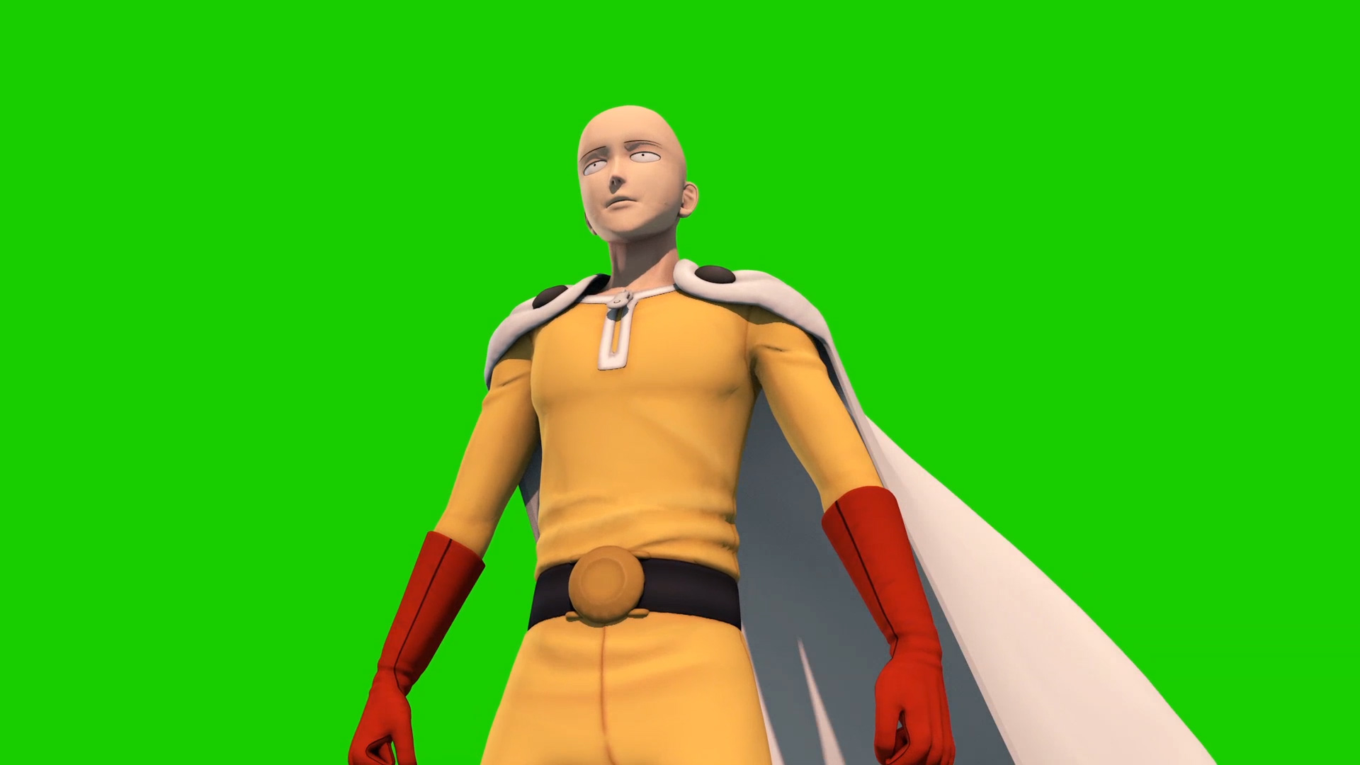 Saitama One Punch Man - 3D Animation - PixelBoom