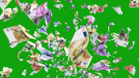 Euro Banknotes – 3D Model Animated