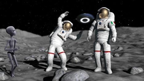 Astronaut Dances – 3D Model Animated