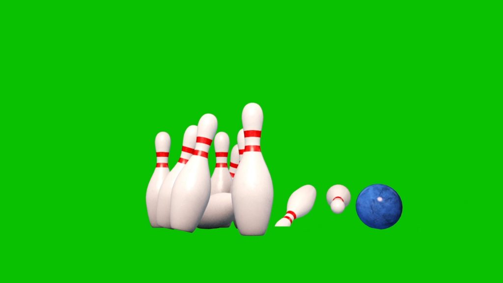 Bowling Alley – 3D Model Animated