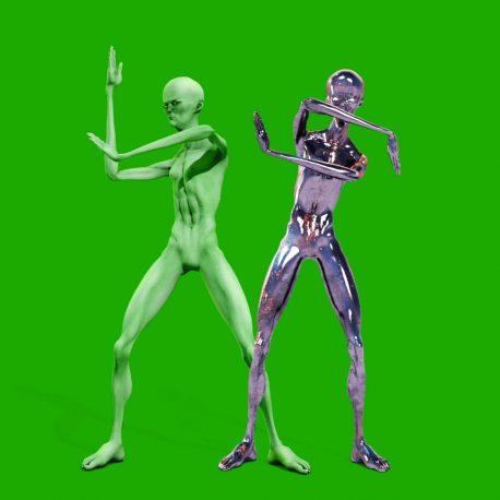 Howard the Alien Dances PixelBoom