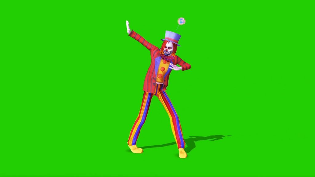 Clown Dances Circus – 3D Model Animated