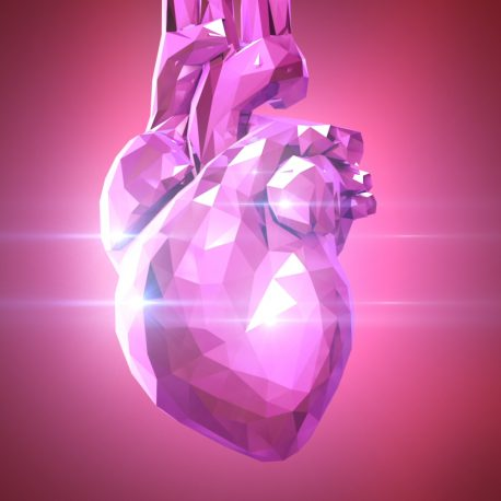 Crystal Heart Loop PixelBoom