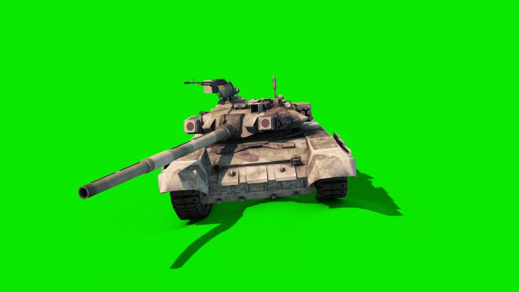 Tank Animated Tracks – 3D Model Animated
