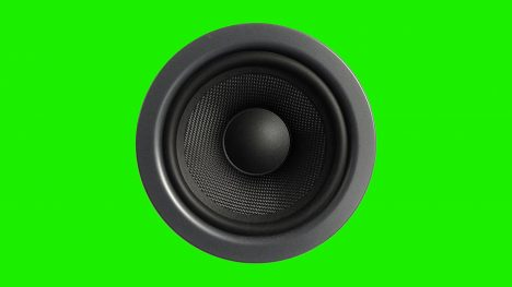 Audio Music Speakers – 3D Model Animated