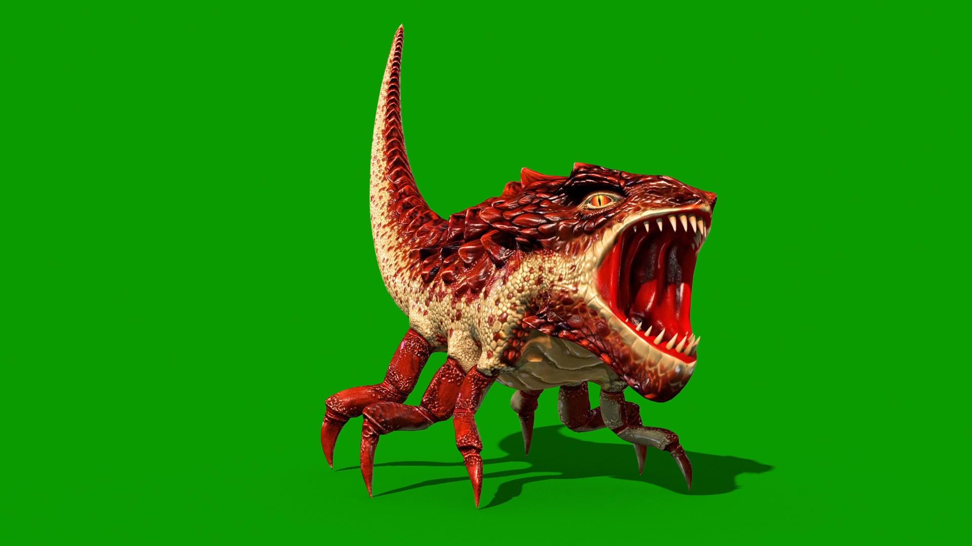 Dragon Bug - 3D Model Animated