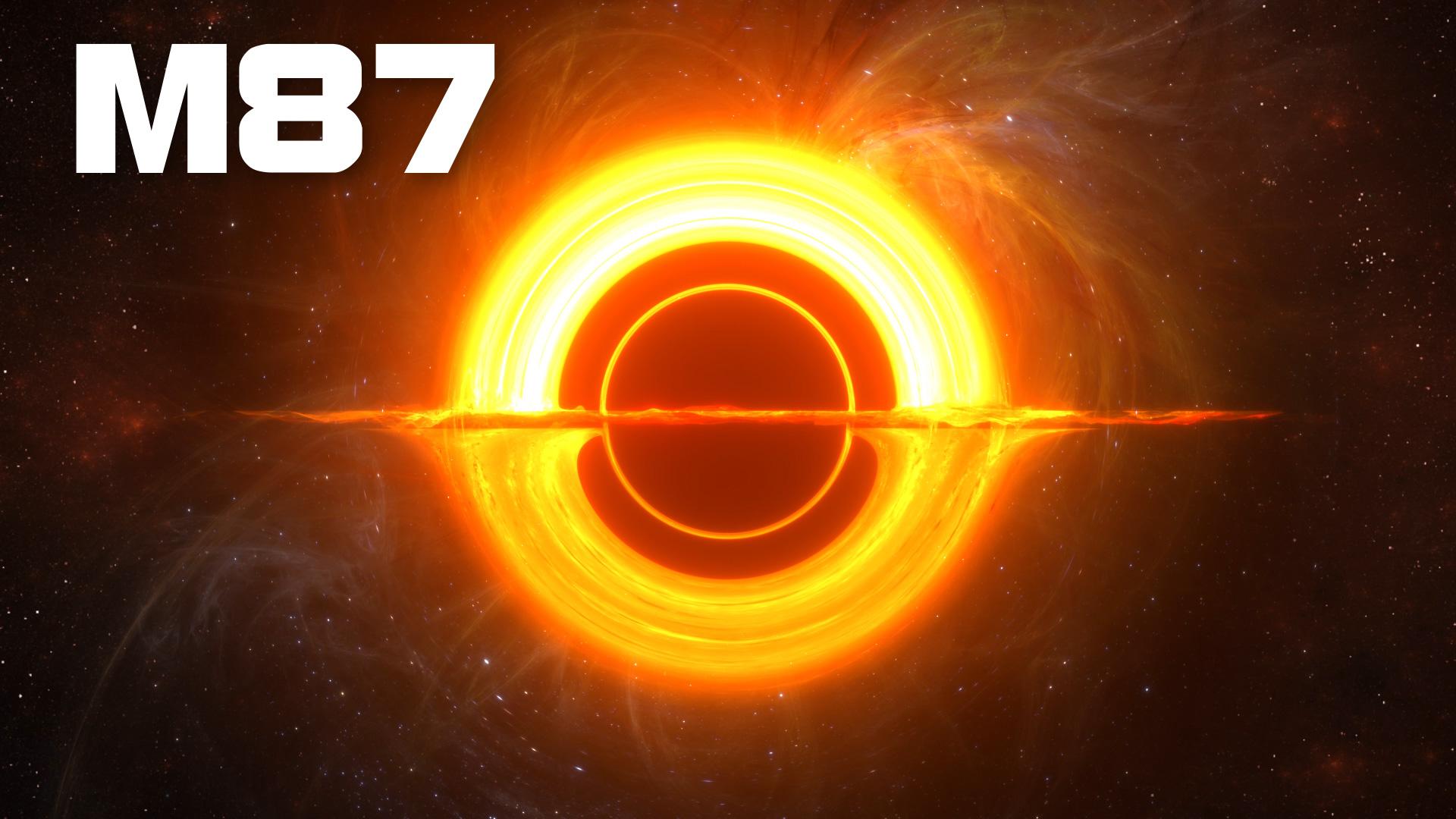 black hole m87 3d model animated pixelboom