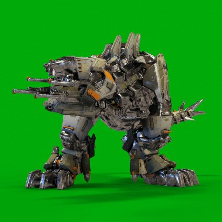 MechREX Robot 3D Animation PixelBoom