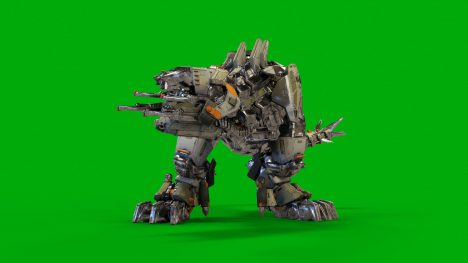 MechREX Robot – 3D Model Animated