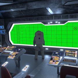 Starship Bridge Astronaut PixelBoom
