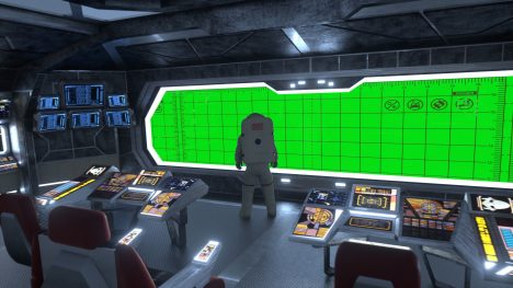 Starship Bridge – 3D Model Animated