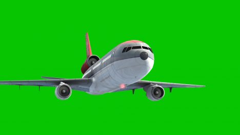 Airplane Airliner – 3D Model Animated
