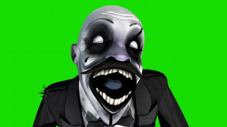 Clown Jumpscare – 3D Model Animated