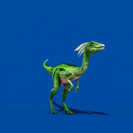 Compy Jurassic Dinosaur PixelBoom