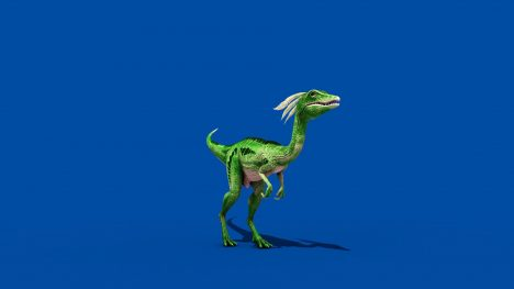 Compy  Dinosaur – 3D Model Animated