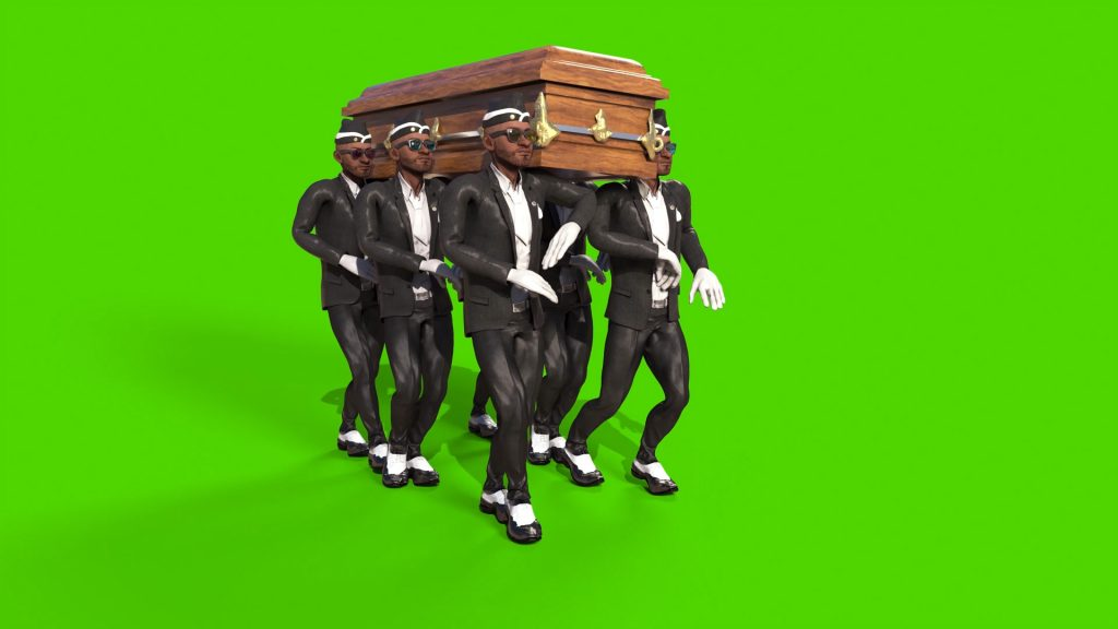 Coffin Dance Meme Green Screen PixelBoom