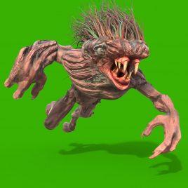 Mane Monster – 3D Model Animated