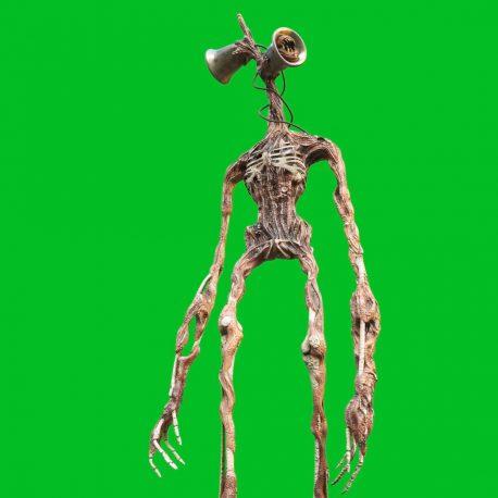 Siren Head Green Screen Creepypasta Horror Meme PixelBoom