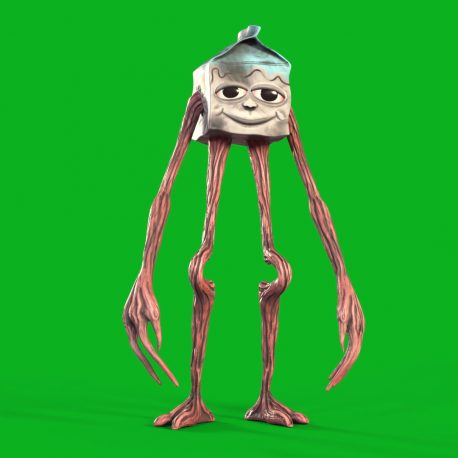 Green Screen Milkwalker Ambassador 3D Animation PixelBoom