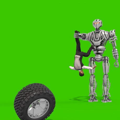 The Hard Life of a Business Man Green Screen 3D Animation PixelBoom