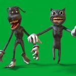 TEAM Cartoon Cat & Cartoon Dog Green Screen 3D Animation PixelBoom