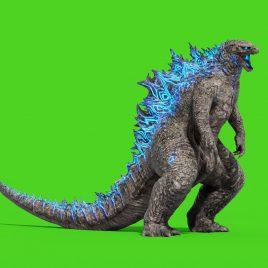 Monster Godzilla Green Screen 3D Animation PixelBoom